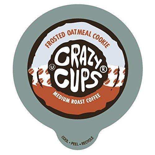 CRAZY CUPS Frosted Oatmeal Cookie DECAF