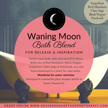 Load image into Gallery viewer, Waning Moon Bath Blend & Retreat