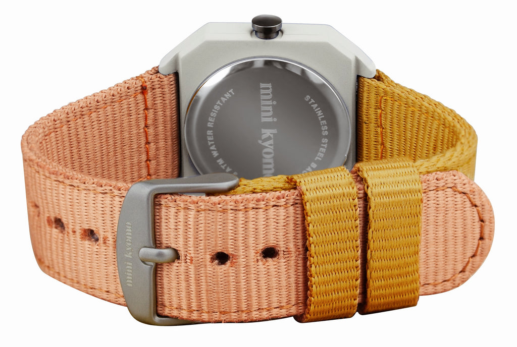 Montre Sunburn Blanc - MINI KYOMO