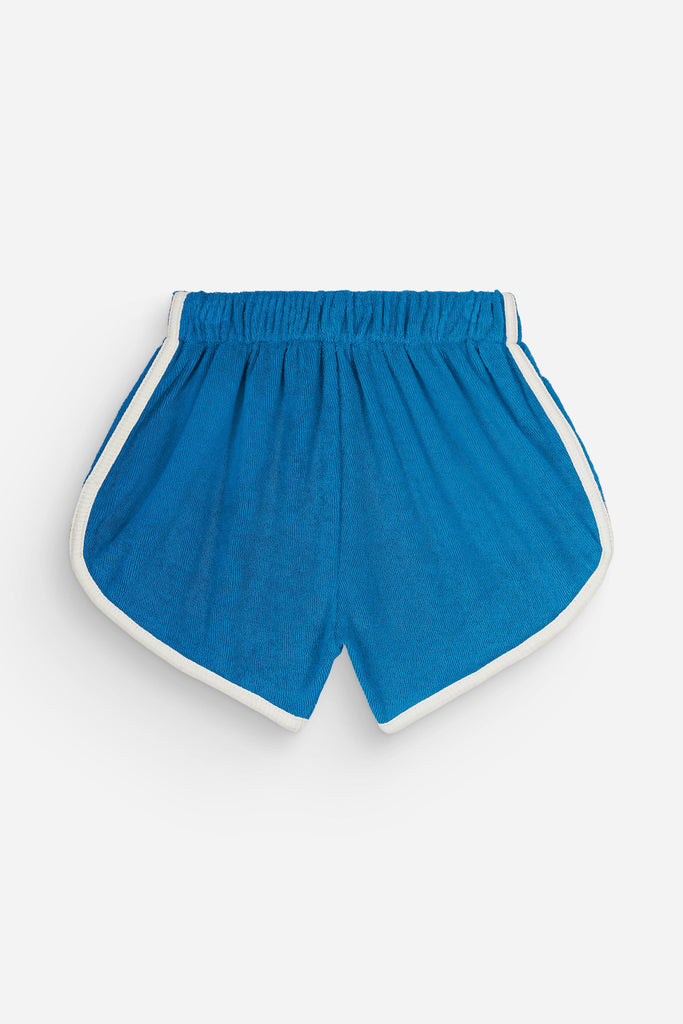 Short Juju Bright Blue We are Kids - Short enfant éponge coton bio