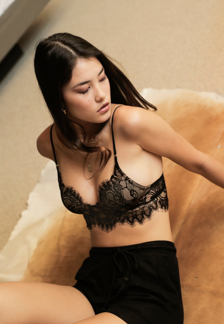 Ashley-Summer-Co-Lucette-black-midi-lace-padded-bralette-singapore