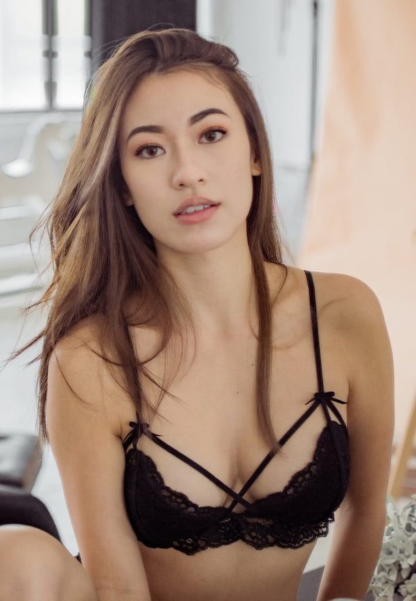 Ashley-Summer-Co-Paris-black-strappy-padded-lace-bralette-singapore