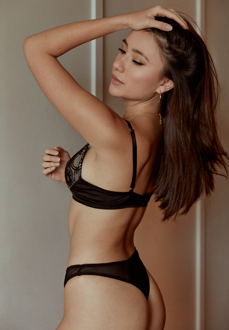 Femme-Black-Padded-Lace-Bralettes-Silk-Thong-Ashley-Summer-Co-Singapore-1