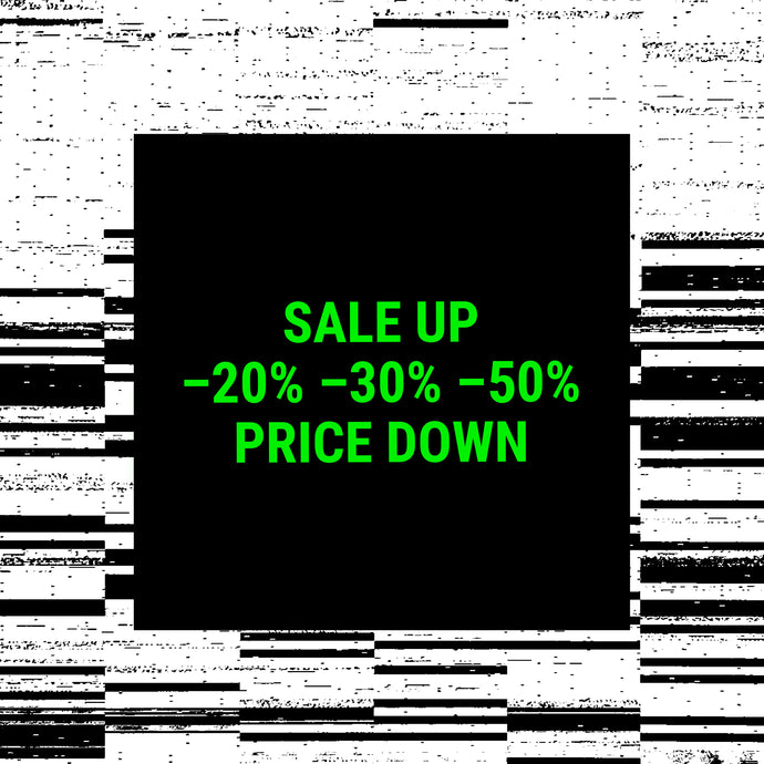 <b>Up To 50% Off</b> – <i>Sale Up Price Down</i>