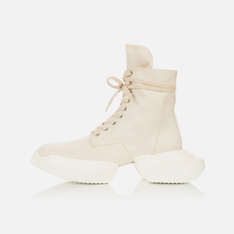 DRKSHDW by Rick Owens 'Army Boots' – Natural / Milk