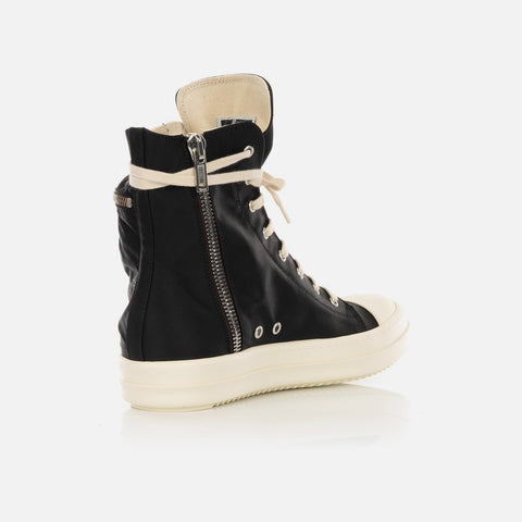 DRKSHDW by Rick Owens 'Cargo Sneaks' – Black / Milk
