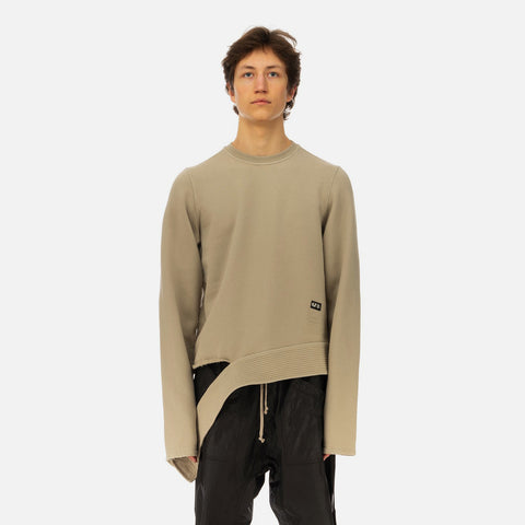 DRKSHDW by Rick Owens 'Long Sleeve Creatch Crewneck' – Dust