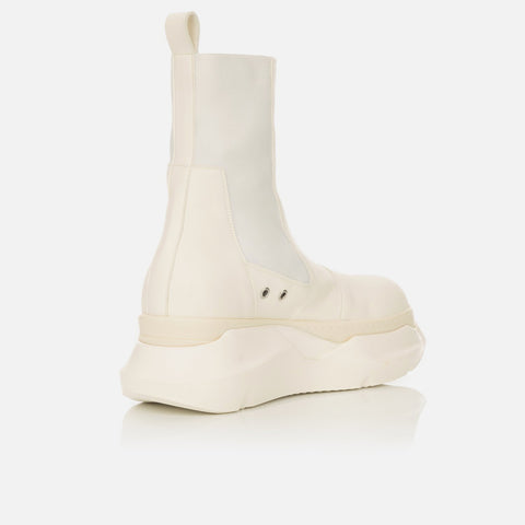 DRKSHDW by Rick Owens 'Beetle Abstract Boot' – Milk