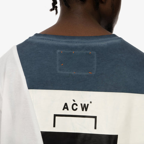 Duran Lantink x Concrete Store – 'T-Shirt / Navy-White' – Remade from selected stock archive pieces: A-Cold-Wall*, Lou Dalton