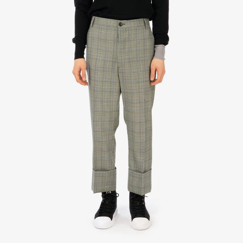 Vivienne Westwood 'Cropped George Trousers – Prince of Wales'