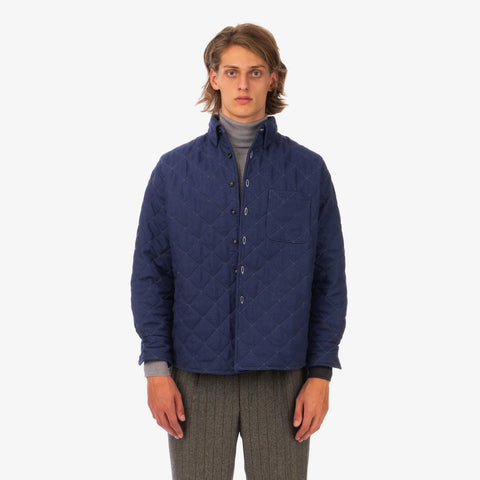 LC23 'Quilted Shirt Jacket'