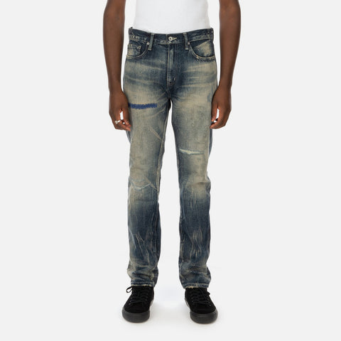 Neighborhood 'Block Savage DP Narrow / 14OZ-PT' – Indigo