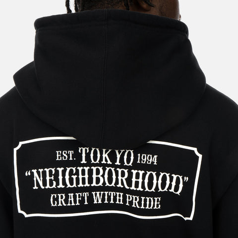 Neighborhood 'Classic-S / C-Hooded LS' – Black