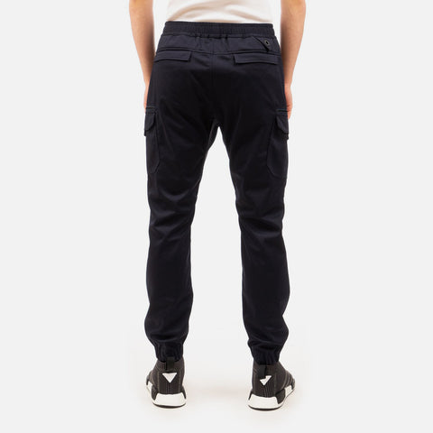 White Mountaineering 'Twilled Jersey Cargo Pants' – Navy