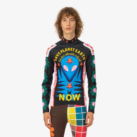 Walter van Beirendonck 'Save Planet EarthBike Top'