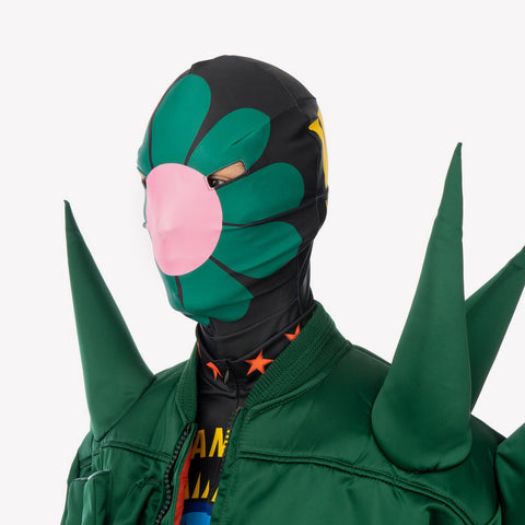 Walter van Beirendonck 'W:A.R. Spike Jacket' and 'Save Planet Earth Mask'