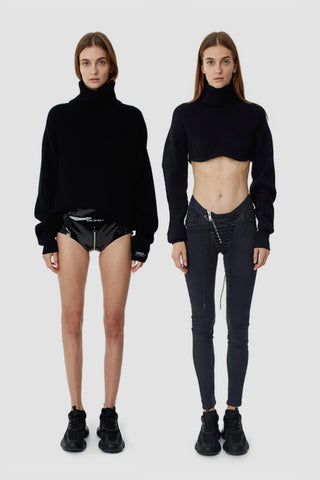 TTSWTRS 'Oversized Wool Sweater' and 'Knitted Wool Top''