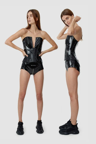 TTSWTRS 'Patent Leather Corset'