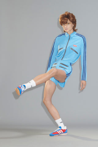 Adidas Originals by Lotta Volkova 'Zip Shirt' and the red/blue/white 'SL72 Sneaker'