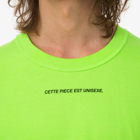 Asparagus 'Inside-Out T-Shirt Neon'