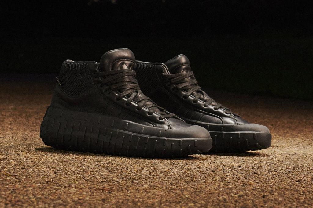Adidas Y-3 'GR.1P High GTX' in all black at Concrete Store