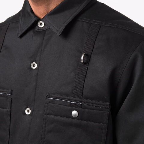DRKSHDW by Rick Owens 'Padded Outershirt' – Black