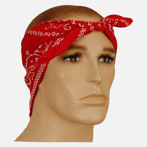 Sad face / Tupac Shakur owned bandana