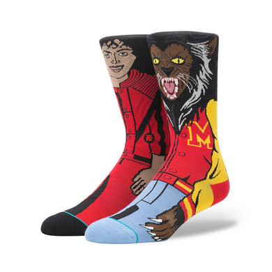 Stance | Michael Jackson Red - Concrete