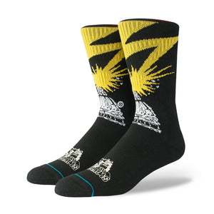 Stance | Legends of Punk x Bad Brains Black - Concrete