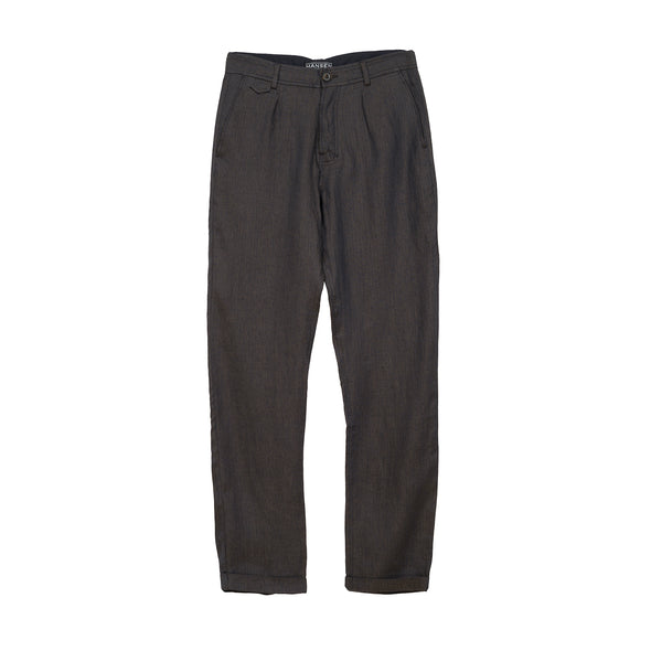 Hansen 'Frank' Regular Fit Trousers Khaki Blue
