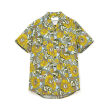 Load image into Gallery viewer, Hansen 'Jonny' Short Sleeve Shirt Green Print