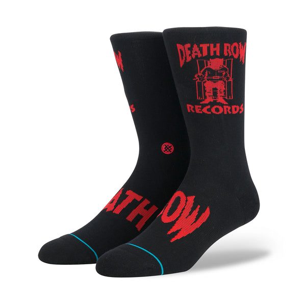 Stance | Snoop Dogg 'Death Row' Black - Concrete