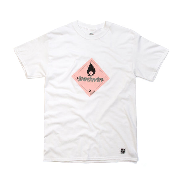 Bedwin & The Heartbreakers | 'Hooper' Print T-Shirt White - Concrete