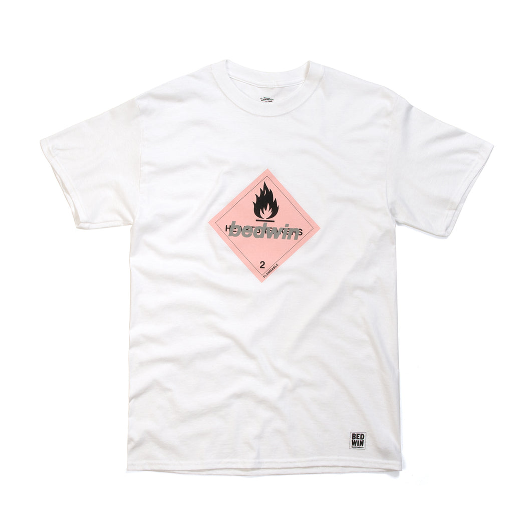 Bedwin 'Hooper' Print T-Shirt White