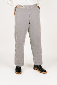 Haversack Seersucker Stripe Pants Navy - 861811/59