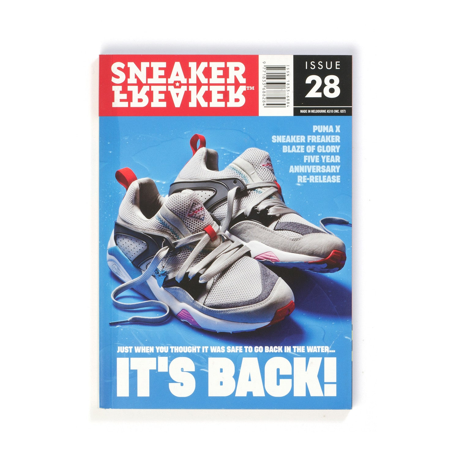 Sneaker Freaker Magazine Issue #28 - Concrete