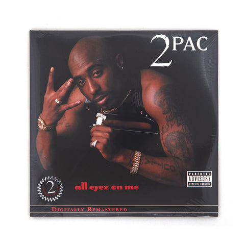 2-Pac - All Eyez On Me 4-LP - Concrete
