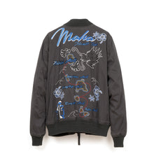 Load image into Gallery viewer, maharishi | Miltype Tour Jacket Island Tour Embroidery Charcoal - Concrete