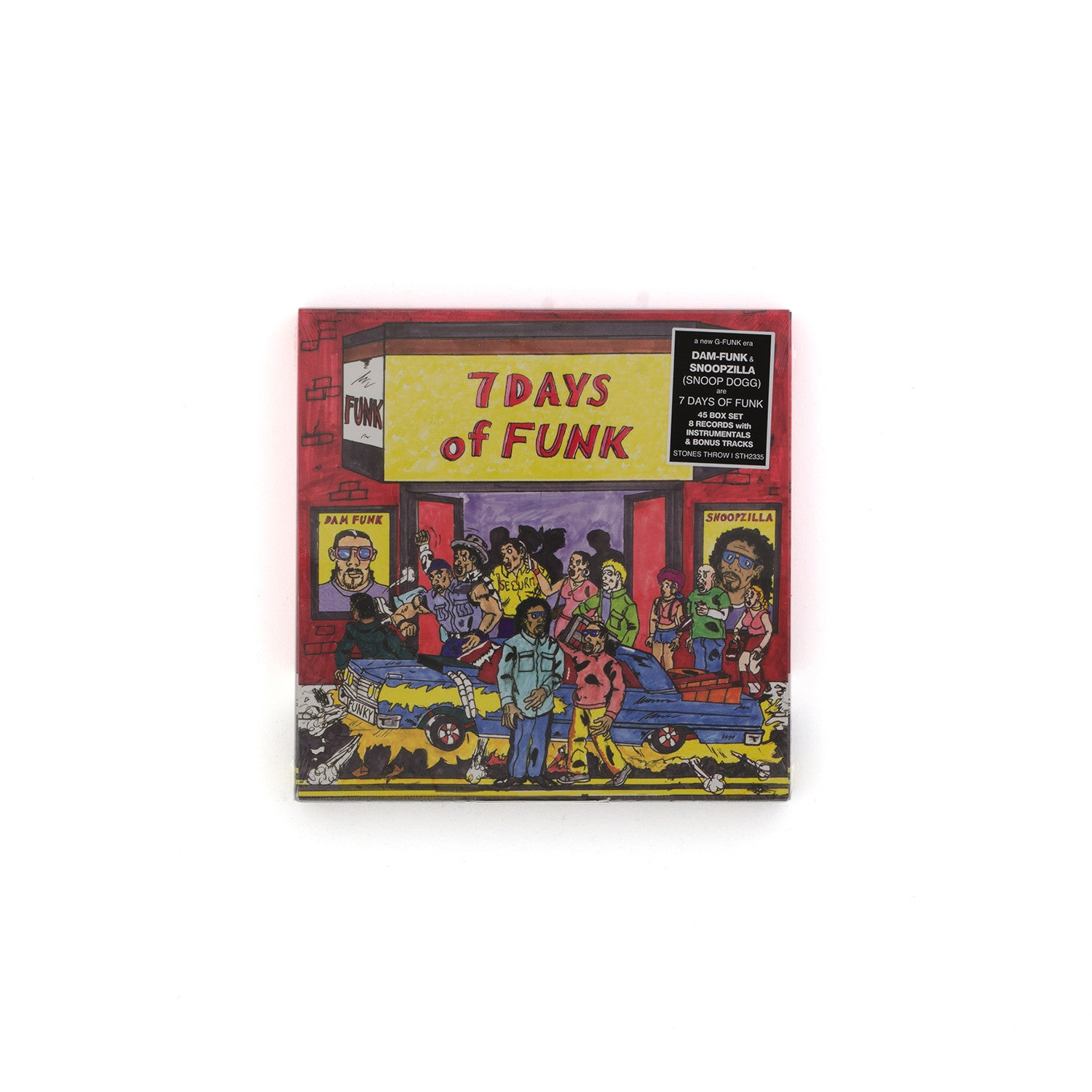 "Dam-Funk & Snoopzilla ""7 Days Of Funk"" 45 Box Set - Concrete"