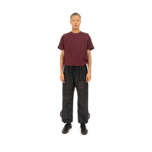 A-COLD-WALL* | Circuit Trousers w/ Patch Black - Concrete