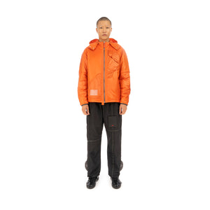 A-COLD-WALL* |  Dissection Puffer Jacket Orange - Concrete