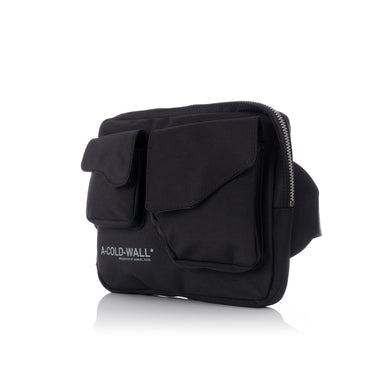 A-COLD-WALL* Polyester Logo Abdoman Bag Black