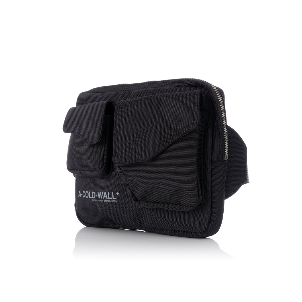 A-COLD-WALL* | Polyester Logo Abdomen Bag Black