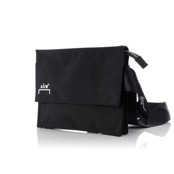 A-COLD-WALL* | Polyester Logo Holster Bag Black - Concrete