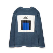 將圖像加載到畫廊查看器中A-COLD-WALL* | National Gallery L/S T-Shirt Blue - Concrete