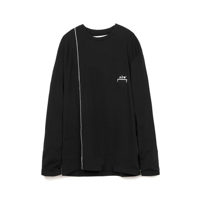 A-COLD-WALL* | Piping L/S T-Shirt Black - Concrete