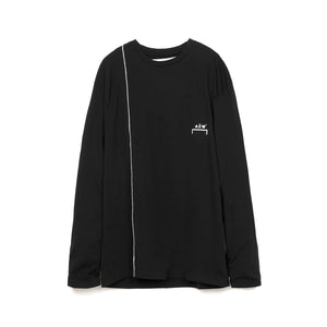 A-COLD-WALL* Piping L/S T-Shirt Black