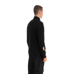 A-COLD-WALL* | Zipped Cashwool Jumper Black