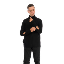 Load image into Gallery viewer, A-COLD-WALL* | Zipped Cashwool Jumper Black