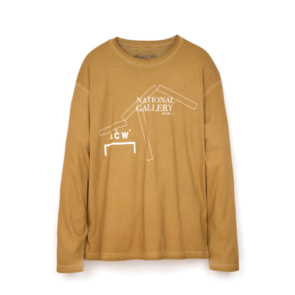 A-COLD-WALL* National Gallery L/S T-Shirt Rust